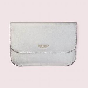 Kate Spade New York Silver Pouch/Clutch